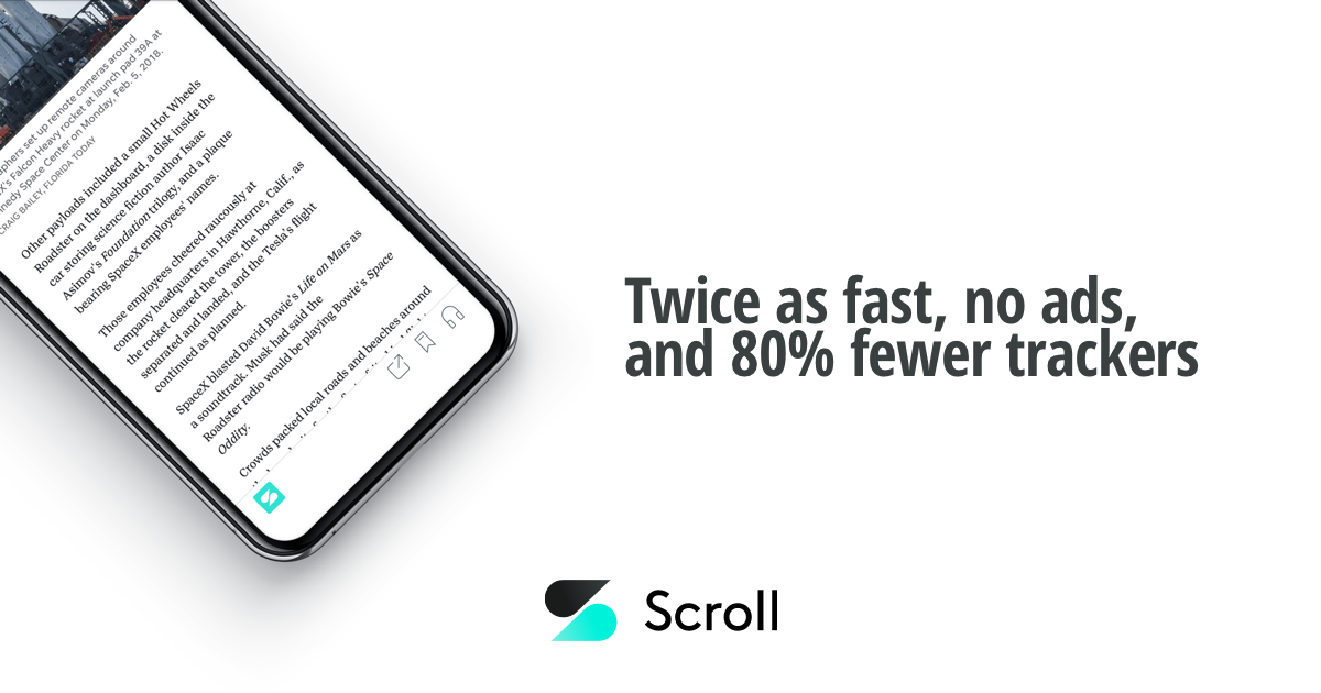 Scroll - a better internet